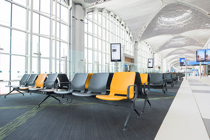 World's Largest Airport Welcomes Passengers with Eon Terminal Seats