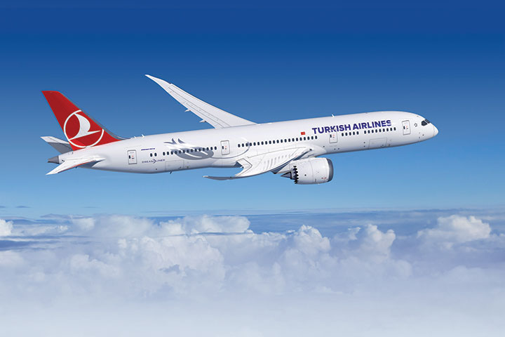 Turkish National Flag Carrier Adds 787 Dreamliner to its Fleet