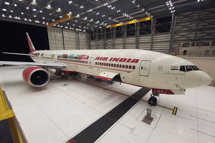 Air India is Decorating its Boeing B-777