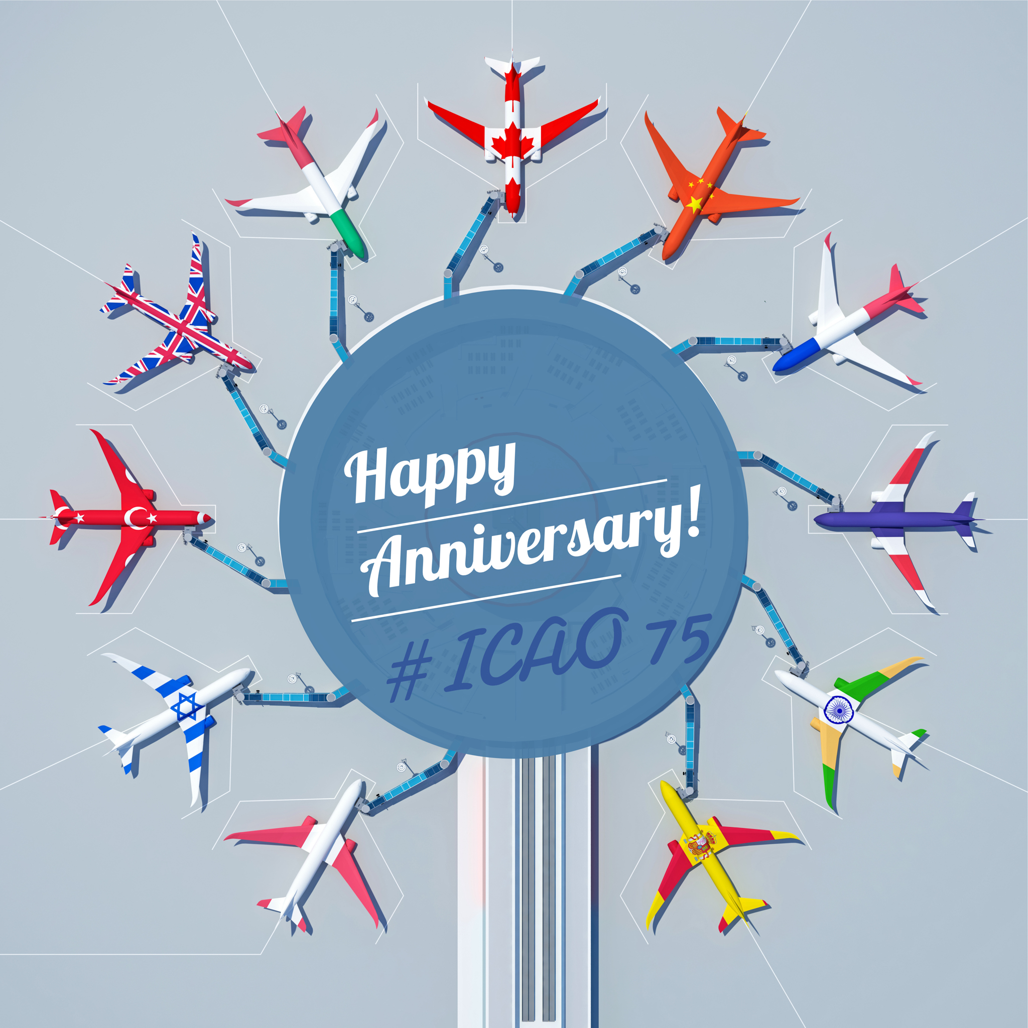 ICAO is Celebrating 75th Anniversary!