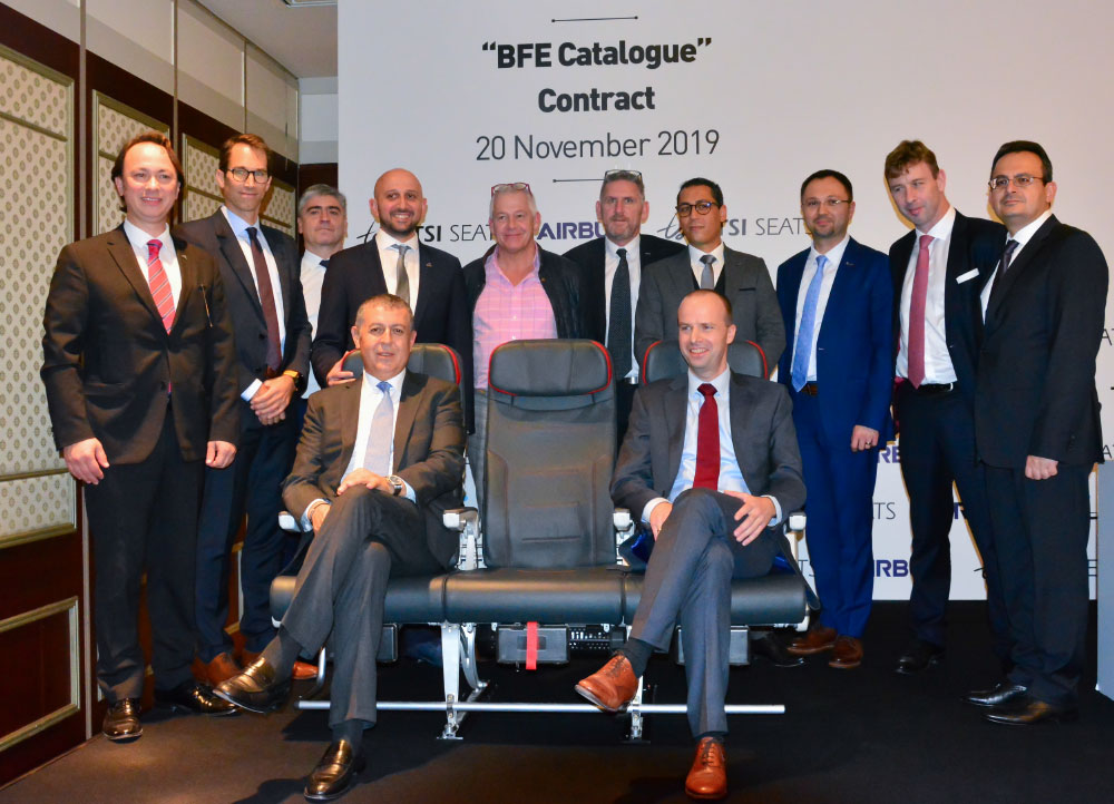 TSI Seats Becomes  an Airbus Approved Seat Supplier!
