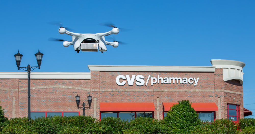 UPS Flight Forward, CVS To Launch Residential Drone Delivery Service