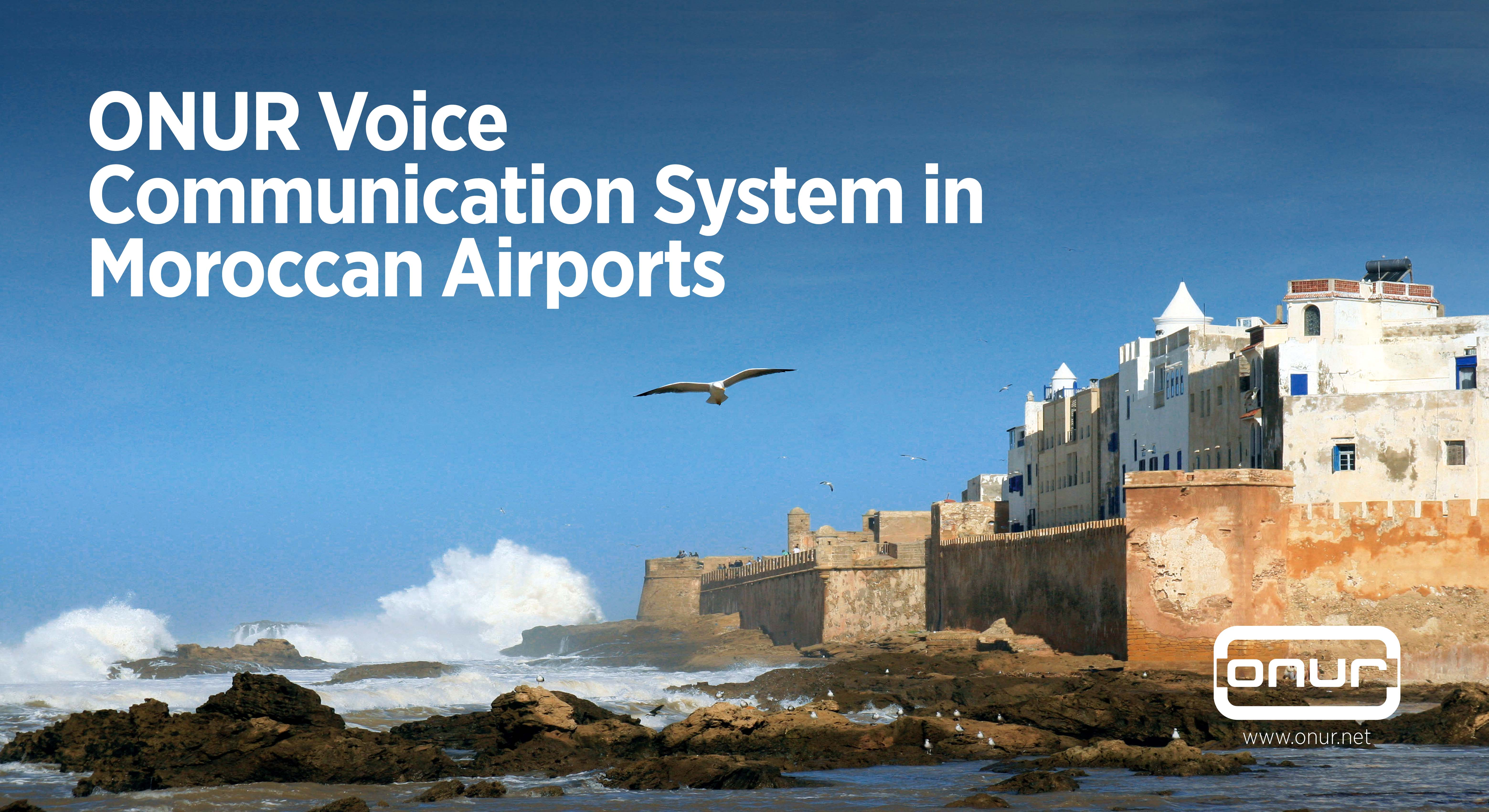 ONUR Engineering Systems Will be Using in Moroccan Airport