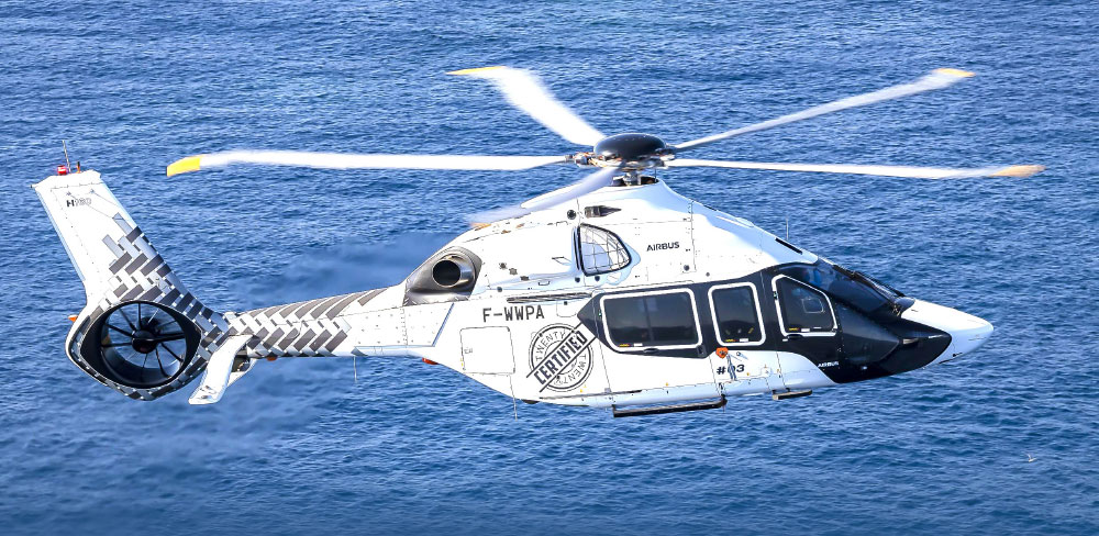 The H160 Receives EASA Type Certification Approval
